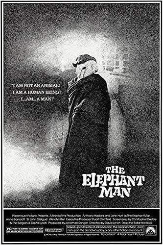 Amazon.com: The Elephant Man - 1980 - Movie Poster: Posters & Prints