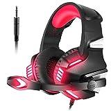 VersionTech Casque Gaming pour PS4 PC Xbox One, Casque Gamer Audio Anti-Bruit Filaire avec...