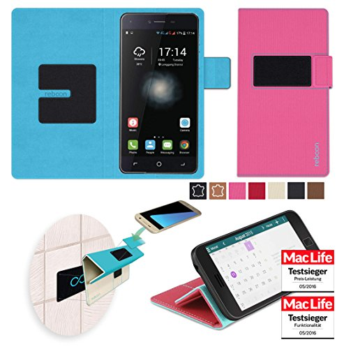 Hülle für Switel eSmart H1 Tasche Cover Hülle Bumper   Pink   Testsieger