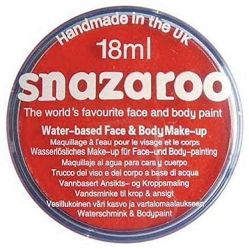 Peinture classique pour visage et corps par Snazaroo, 18 ml, couleur individuelle, abricot - Rouge -