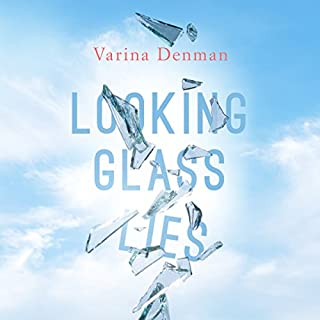 Looking Glass Lies audiobook cover art