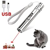 Best Laser Pointer For Cats - wowyesh Rechargeable Cat Training Exercise Chaser Toy, 3 Review