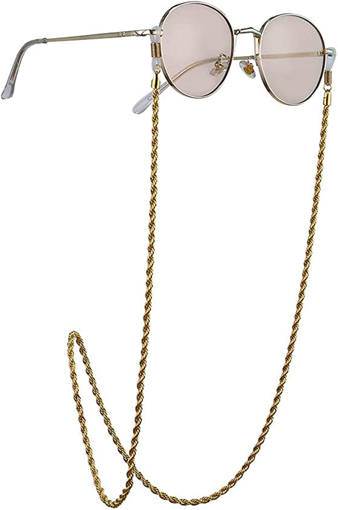 free shipping Asphire Gothic Twisted Rope Eyeglass Choice Necklace Sunglasses Chain H