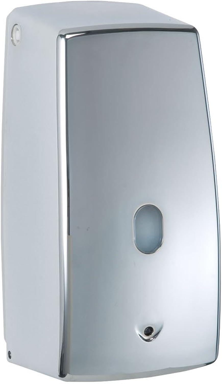 Wenko 18417100 Infrarot Seifenspender Treviso chrom, Fassungsvermögen 0,65 L, Kunststoff, 11 x 22,5 x 10,5 cm, chrom B000UUJSTO