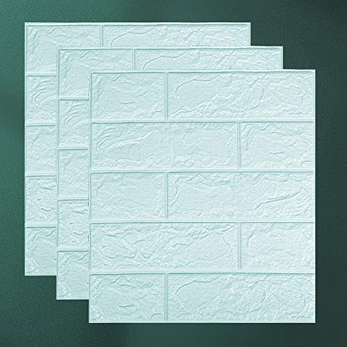 LEV Wall Stickers - 15/30pcs 3D Brick Sticker self-Adhesive DIY Waterproof Foam Wallpaper for Room Kitchen roof Ceiling Background Wall Decals 2021 - by 1 PCs