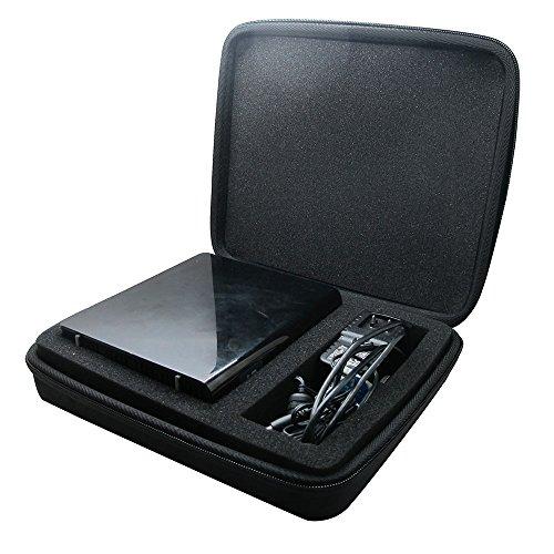 co2CREA - Custodia rigida per hard disk esterno Western Digital WD My Book 2 TB, 3 TB, 4 TB, 6 TB, USB 3.0, colore: Nero