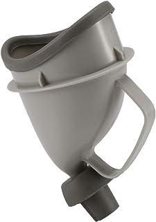 TiooDre Orinales de Viaje, Viaje Unisex para automóvil Orinales de Adultos al Aire Libre para Potty Funnel Peeing Camping WC Portátil
