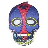 Naughtyy Musketeers Deadpool Superhero Day of The Dead Skeleton Halloween Mask