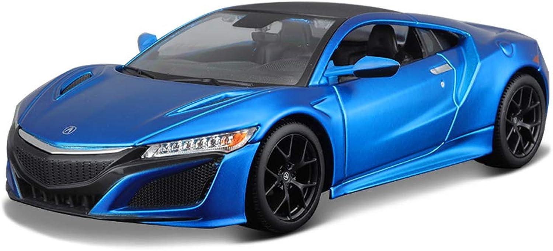servicio considerado JIANPING Modelo de Coche Coche Coche Coche 1  24Acura NSX aleación de simulación de fundición a Troquel joyería de Juguete colección de Coche Deportivo joyería 18.5x8.5x5CM Auto Modelo (Color   azul)  ventas en línea de venta