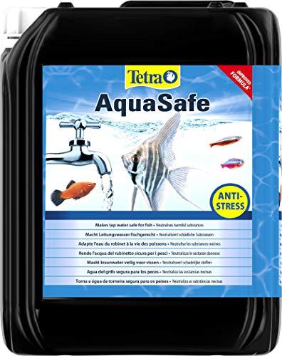 Tetra AquaSafe, Rende l'Acqua del Rubinetto Sicura, Neutralizza Le Sostanze Dannose per i Pesci, 5 L