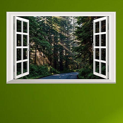 Sticker om zelf te maken, vensterkunst, vensterafbeelding
