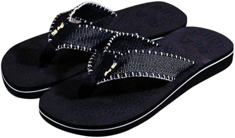 QRETYSG flip flop Men Summer Stripe Flip Flops shoes Sandals Male Slipper Flip-flops Fashion Men Outdoor Casual Beach shoes Flip flops
