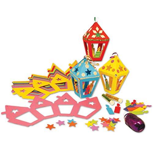 Springboard Maak een Kaars Lantaarn Diwali Craft Activity Pack (Pack van 30)