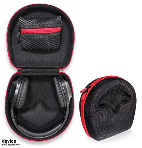 CaseSack Headphones Case for JBL Live 650 BT NC, Letscom Wireless Headphones, Jabra Move, Skullcandy Grind, Hesh, Hesh 2, Uproar; Sennheiser HD598Cs, HD558, HD595; AKG K550/K240; BOSEbuild Headphones