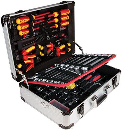 VinTec 121 teiliger Wergzeugkoffer Werkzeugkasten