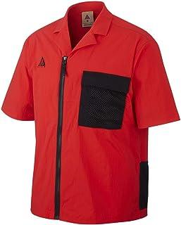 Nike X ACG Camicia Rosso Nero CI0414-634 (S - Rosso)