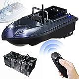 SXJXB Barco Cebador Carpfishing Inteligente GPS, 1,5 Kg De Carga Barco De Señuelo De Pesca De Un Solo Almacén Motor Doble 2,4 GHz Sistema Posicionamiento GPS Led Indicadora