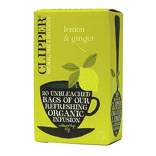 Clipper Organic Lemon & Ginger Infusion 20 bags