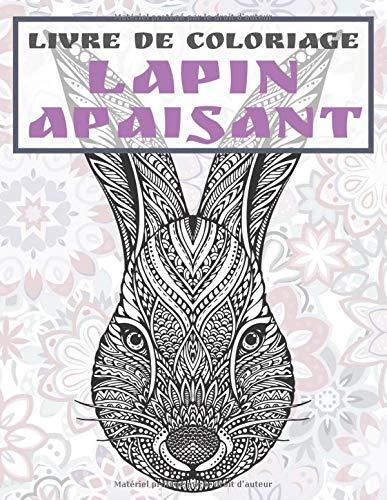 Lapin apaisant - Livre de coloriage PDF Books