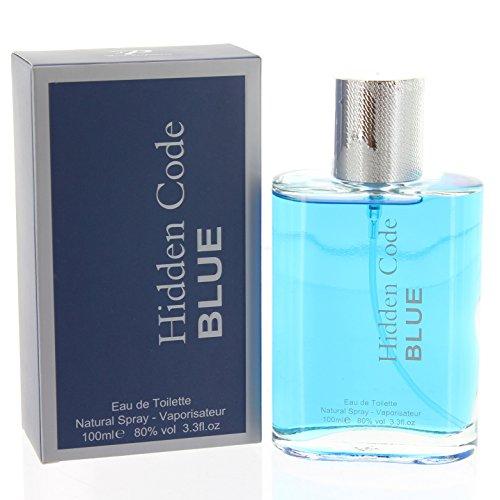 Hiddencode Bleu Parfum Pour homme Eau de toilette vaporisateur NEUF pour homme 100 ml