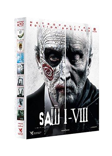 L'intégrale 8 Films-Saw en Blu-ray