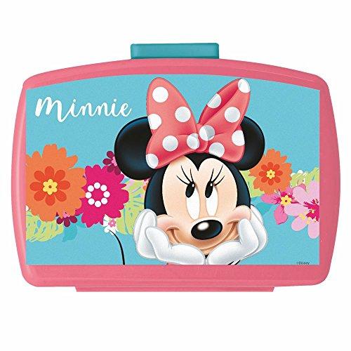 Minnie Boîte de Collation | Disney Mouse | Conteneur de Casse-Croûte