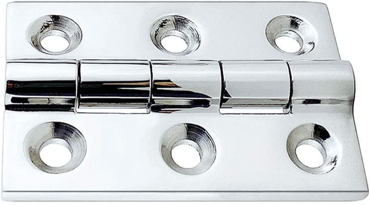 SPNEC Ultra-Cheap Deals Strap Door Hinge 50x75 Clearance SALE! Limited time! mm Deck Stainless Steel Boat Marine