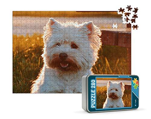 Puzzles personalizados 280 piezas con foto y texto | Máxima calidad de impresión | Diferentes tamaños disponibles (9 a 2000 piezas) | Tamaño: 280 piezas (40 x 30 cm) - Con caja personalizada