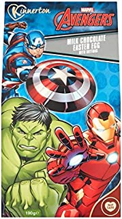 Avengers Milk Chocolate Premium Easter Egg with Milk Chocolate Buttons 190g