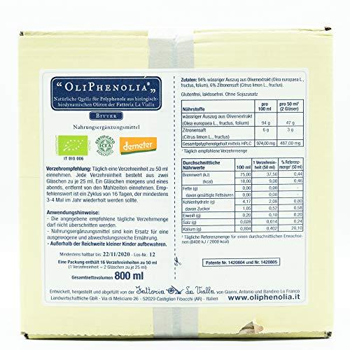 Oliphenolia Bitter Flüssi 32X25 ml