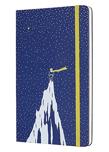 Moleskine 2019-20 Petit Prince Weekly Planner, 18m, Large, Mountain, Hard Cover (5 X 8.25)