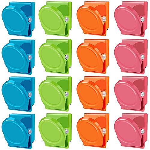 4 unidades KitchenCraft Klobige Pinzas magn/éticas para sujetar bolsas o notas