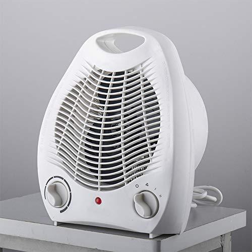 zZZ Zambista El Ventilador del Calentador Calentador de Patio, cálido y Modo de Aire frío, Mini Baño Secador de Secado rápido Aire Libre Interior Baños Cuatro Estaciones 1000W / 2000W Blanca
