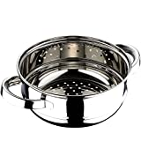 Chef Sauce CS-2551 24 cm Vaporera Acero Inoxidable, 24 x 9,5