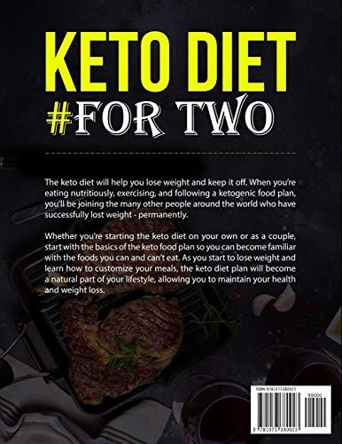 Keto Diet #For Two Cookbook: 500 Keto Recipes (keto cookbook) 2