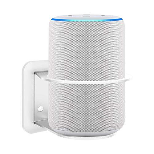 Gelink Soporte de Pared para Google Home Extra O-Ring Compatible con Eco Gen 2 , Gestión de Cables Incorporada ( (Blanco)
