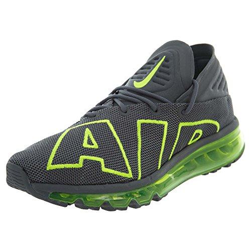 Nike Air MAX Flair, Zapatillas de Deporte Hombre, Multicolor (Dark Grey/Volt/Dark 008), 44 EU