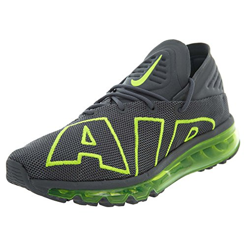 Nike Air MAX Flair Hombre Running Trainers 942236 Sneakers Zapatos (UK 7 US 8 EU 41, Dark Grey Volt 008)