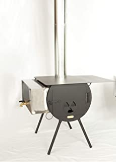 Cylinder Stoves - Outfitter Wood Stove Package - Wall Tent Stove