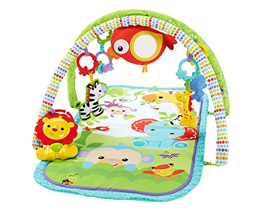 Mattel Fisher-Price - Rainforest-Freunde Spieldecke 3-in-1
