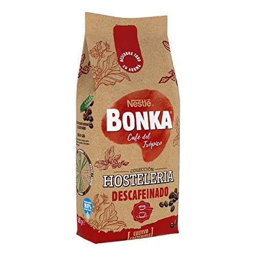 BONKA Café tostado descafeinado para Hostelería - 500 g