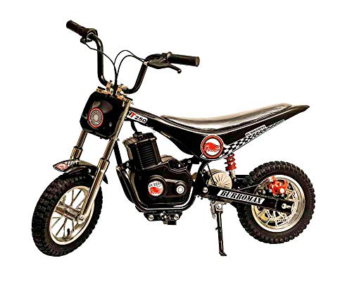 Burromax Black TT250 Electric Motorcycle Dirt Bike for...