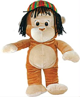jamaican monkey plush toy