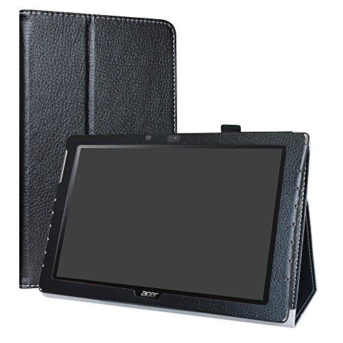 LiuShan Acer Iconia One 10 B3-A40 hülle, Folding PU Leder Tasche Hülle Hülle mit Ständer für 10.1
