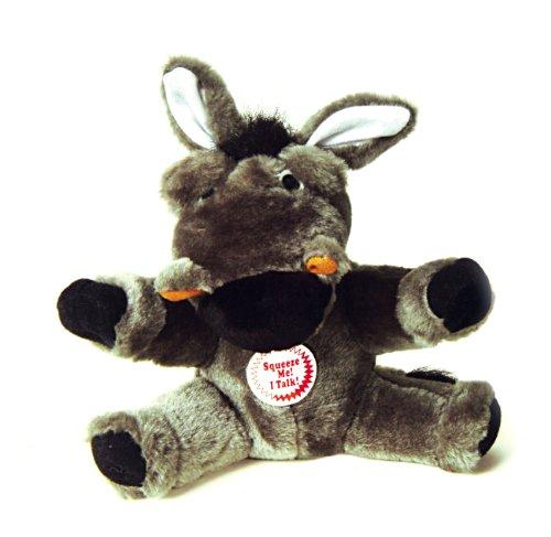 Interpet 4595 Chatterbox Esel - Plüsch Hundespielzeug
