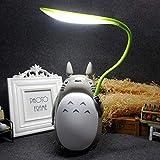 Luce Notturna LED, Lampada da Comodino LED, lampada per i bambini lampada gatto di ricarica, regalo ragazza 1-13 anni,lampada bambini, Stile totoro