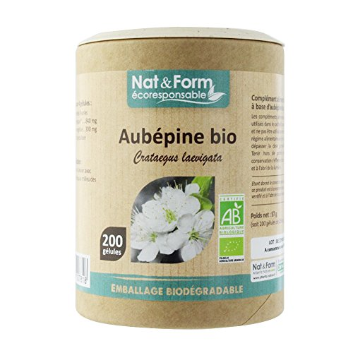 Nat & Form - NAT&FORM AUBEPINE BIO 200 GELULES