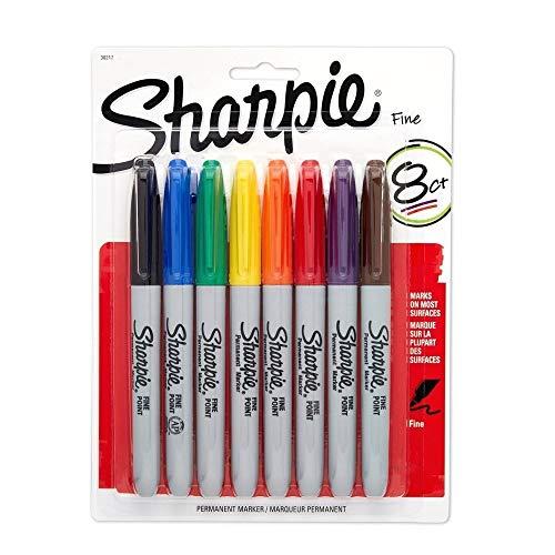 Sharpie Fine Point Asst Colors - SET OF 10