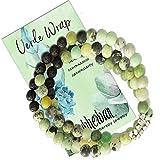 Subherban Essential Oil Bracelets - VERDE Diffuser Bracelet - Lava Rock Anxiety Bracelet - Handmade Jewelry - Gifts for Women