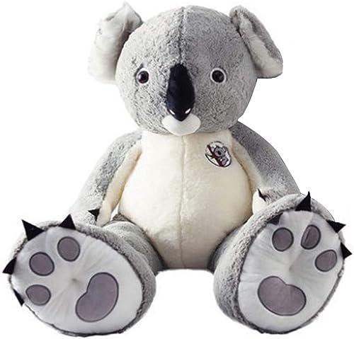 Beiguoxia Jouet en Peluche Koala 80 100 cm Jolie poupée Douce en Peluche pour Tous Les ages 100cm 1 Couleur